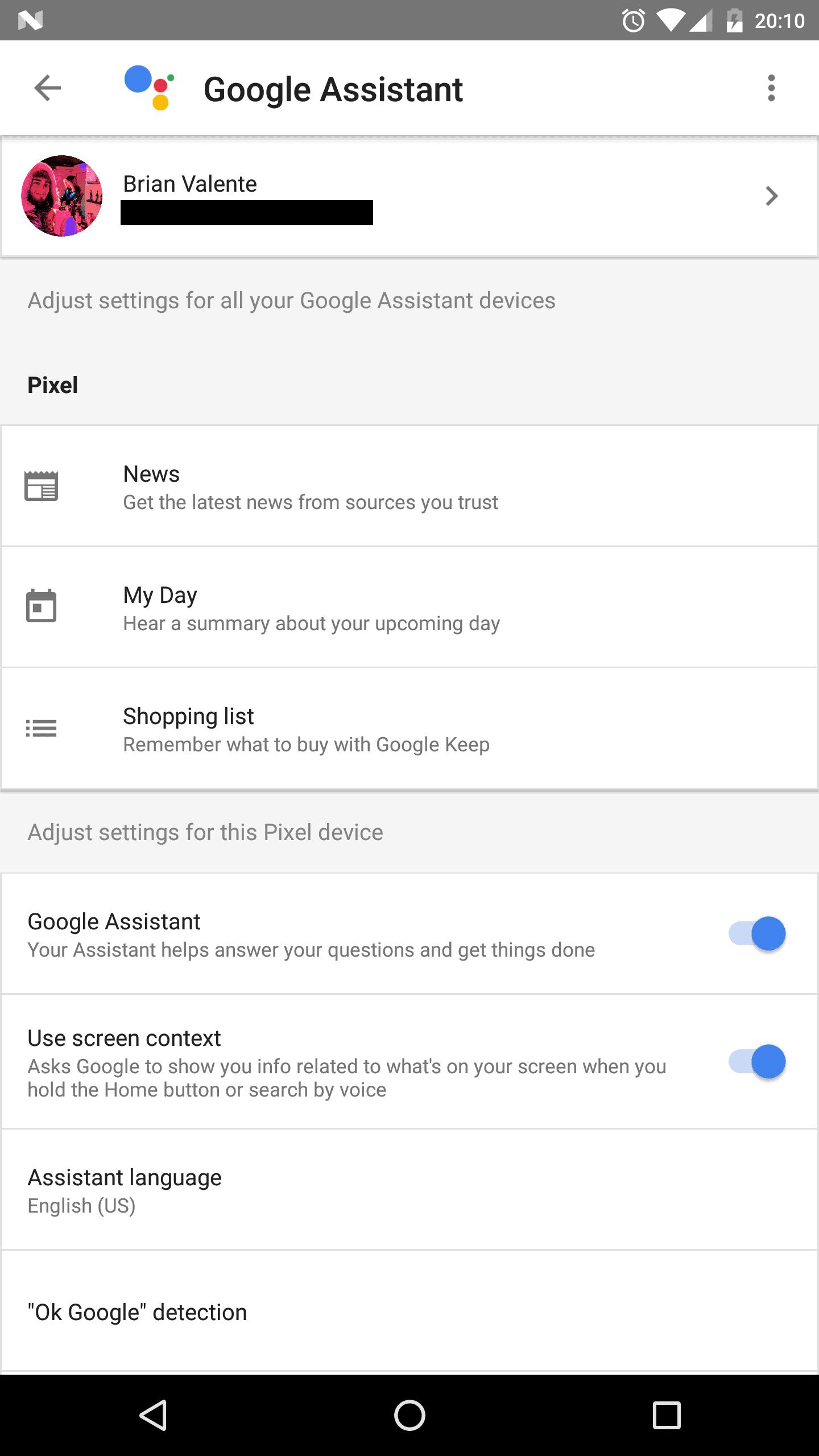 Google Assistant non Pixel Phone 3