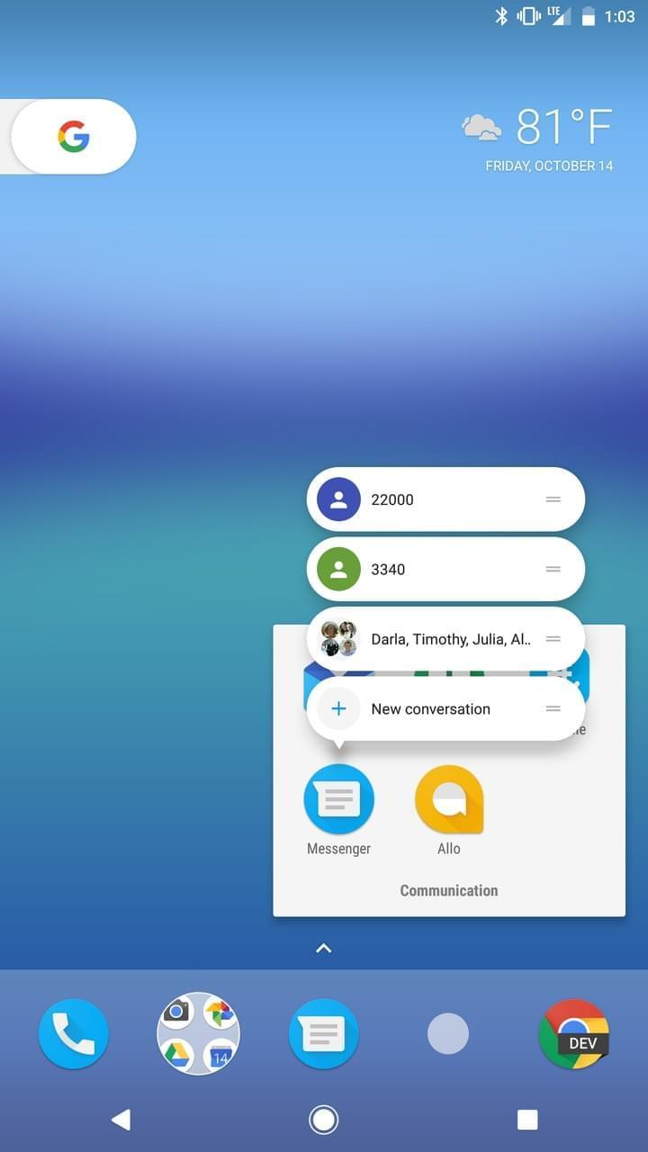Google Pixel AH NS Screenshots launcher 4