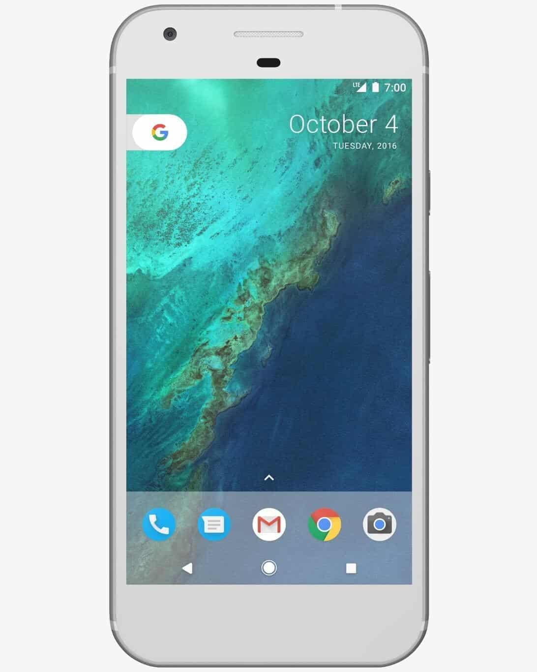 Google Pixel Silver 1