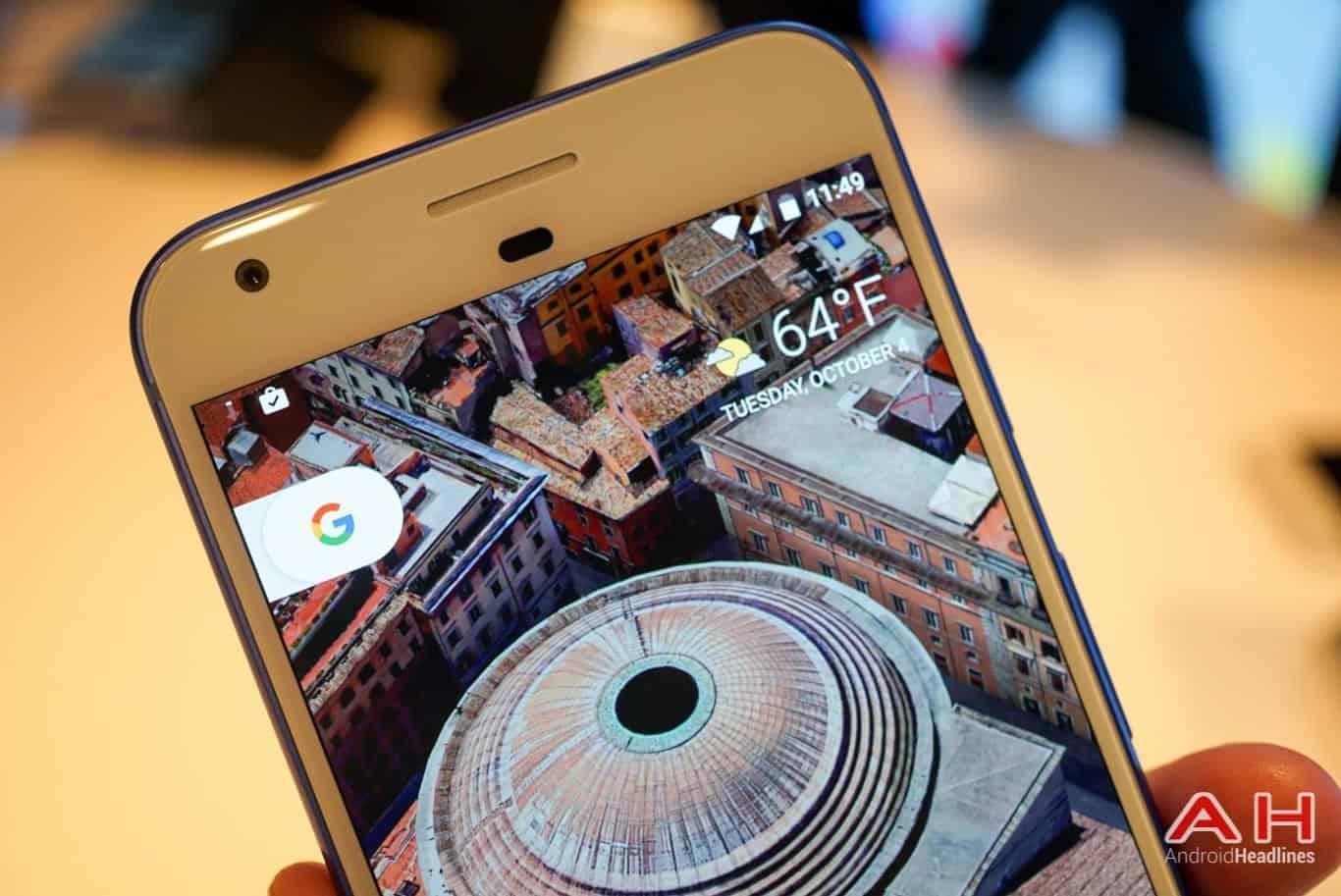 Google Pixel XL Hands On AH 12