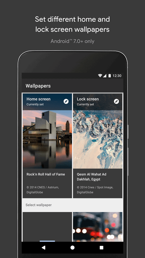 Google Wallpaper App Lands in Play Store for All Devices