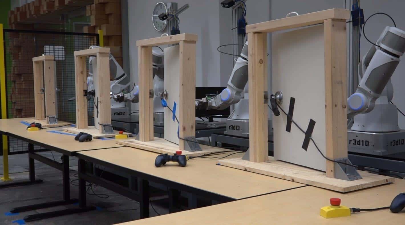 Googles Robotic Arms