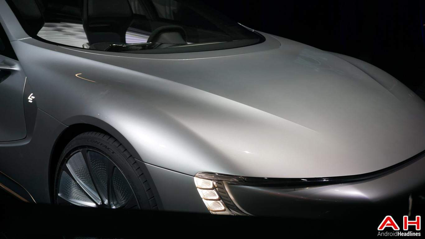 LeEco LeSee Pro Self Driving Car AH 7
