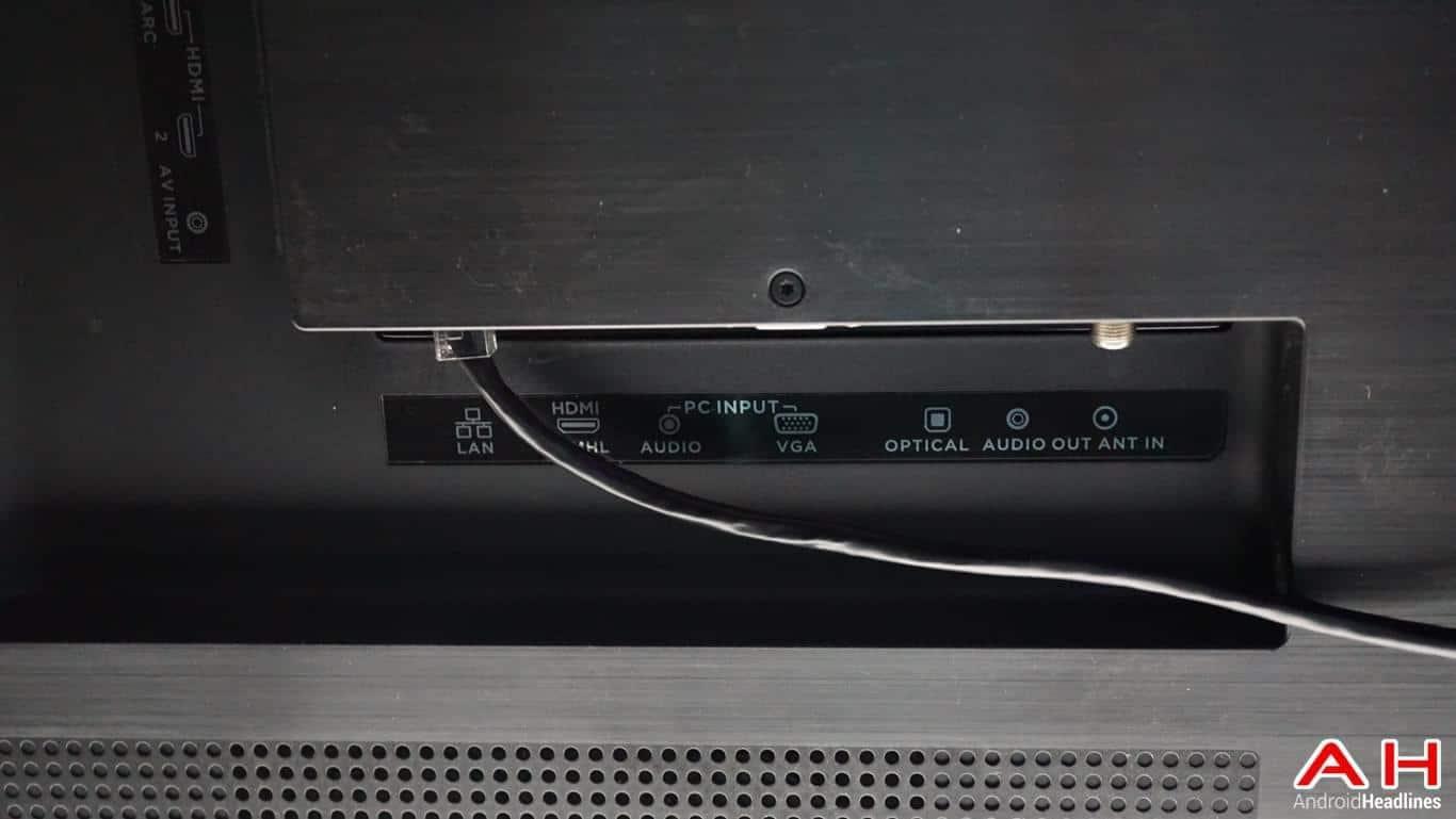 LeEco Super4 X55 TV Hands On AH 12
