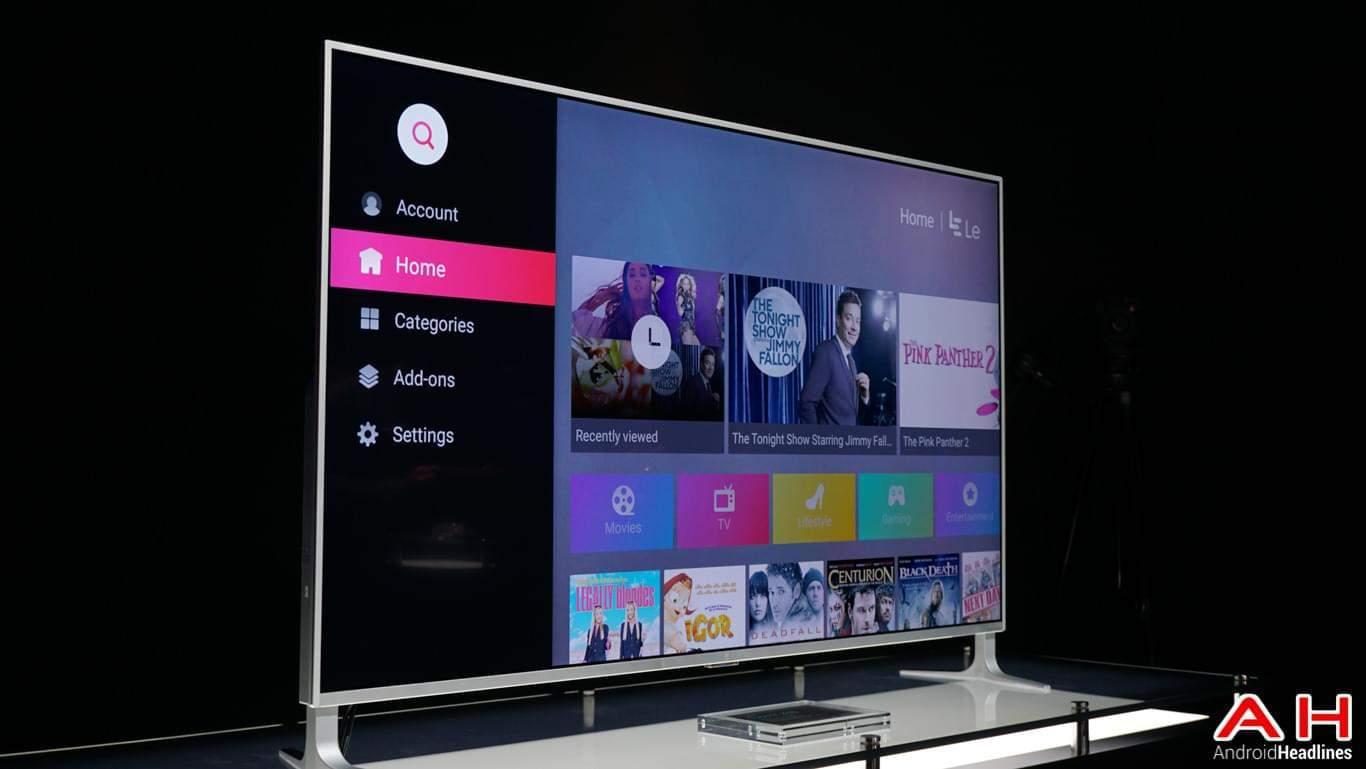 LeEco Super4 X55 TV Hands On AH 2