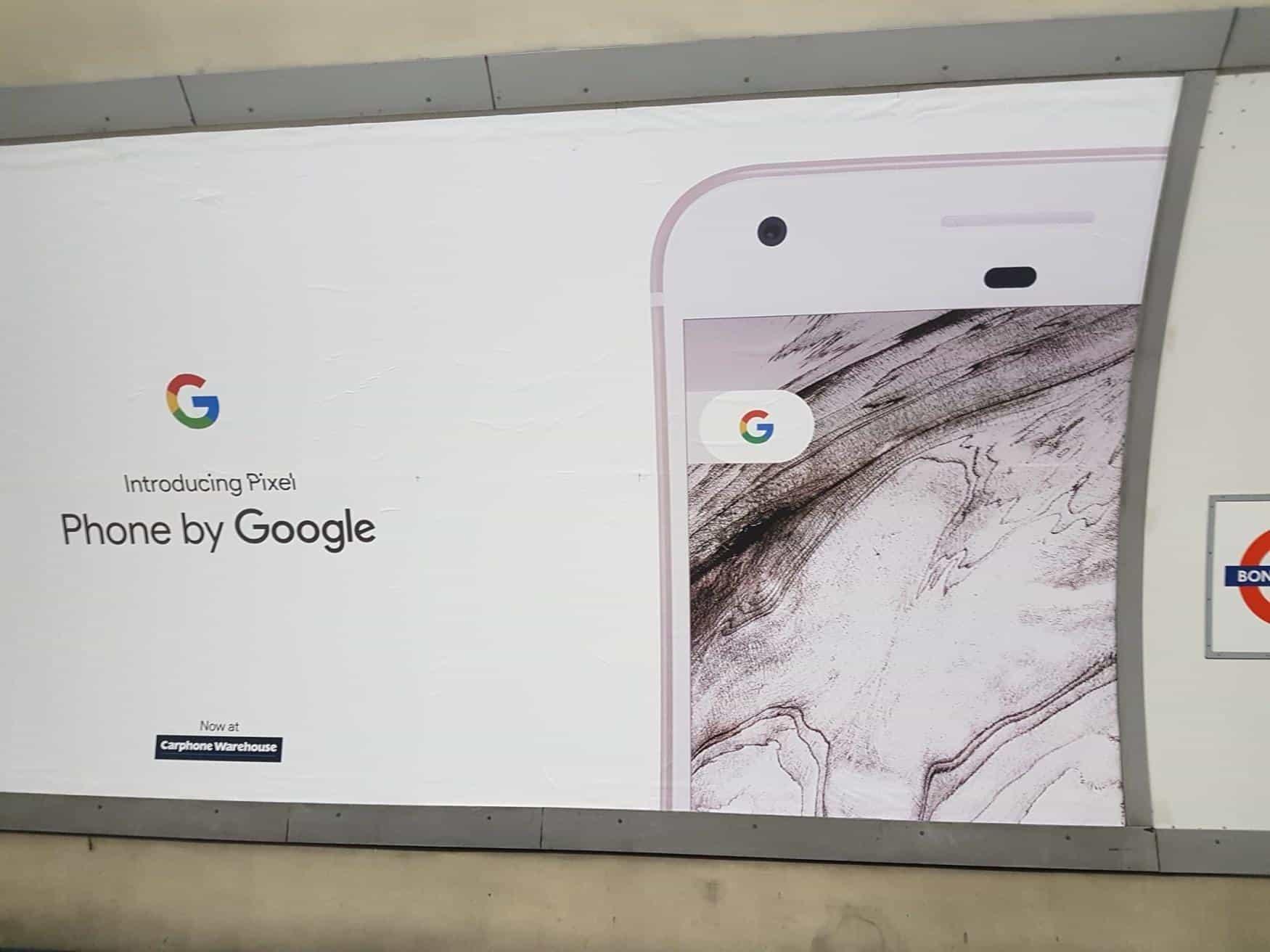 London Google Pixel Ads 3
