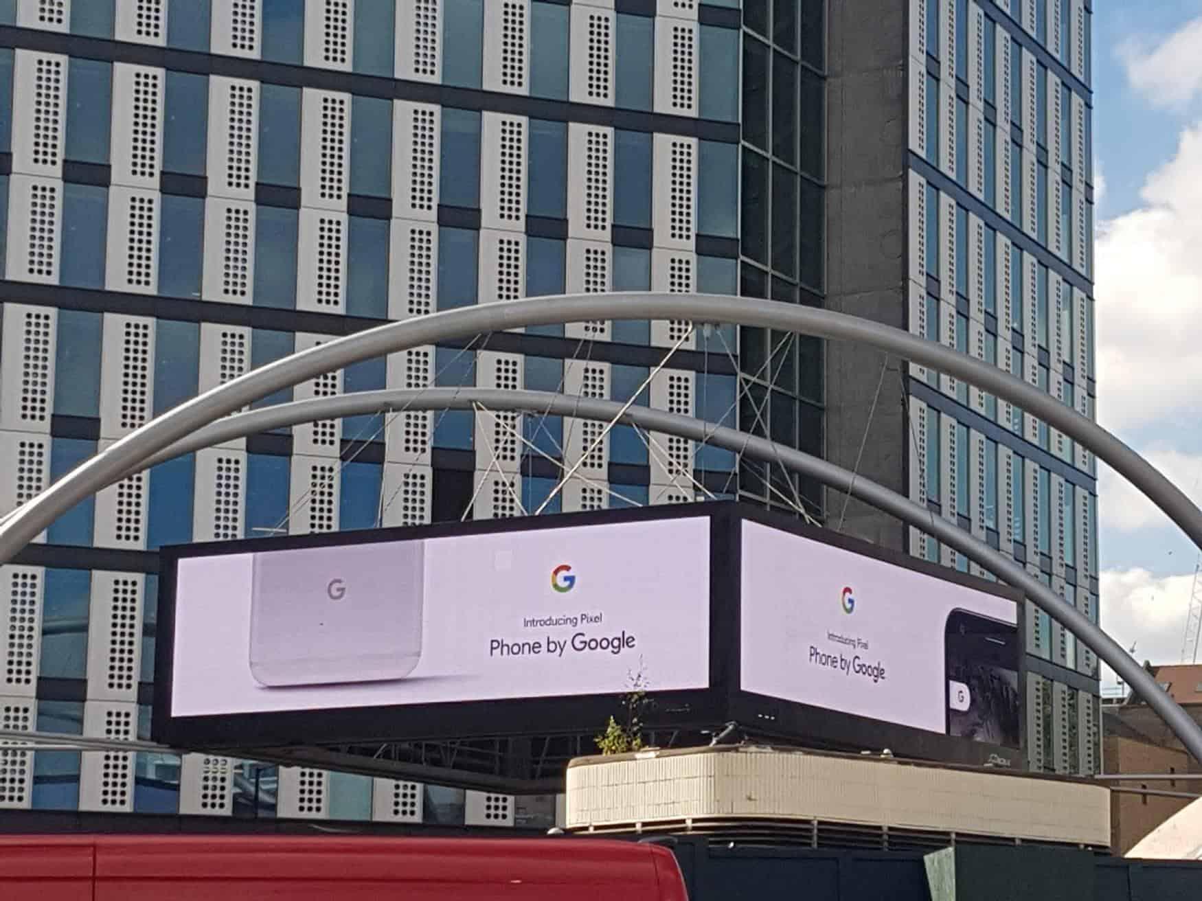 London Google Pixel Ads 5