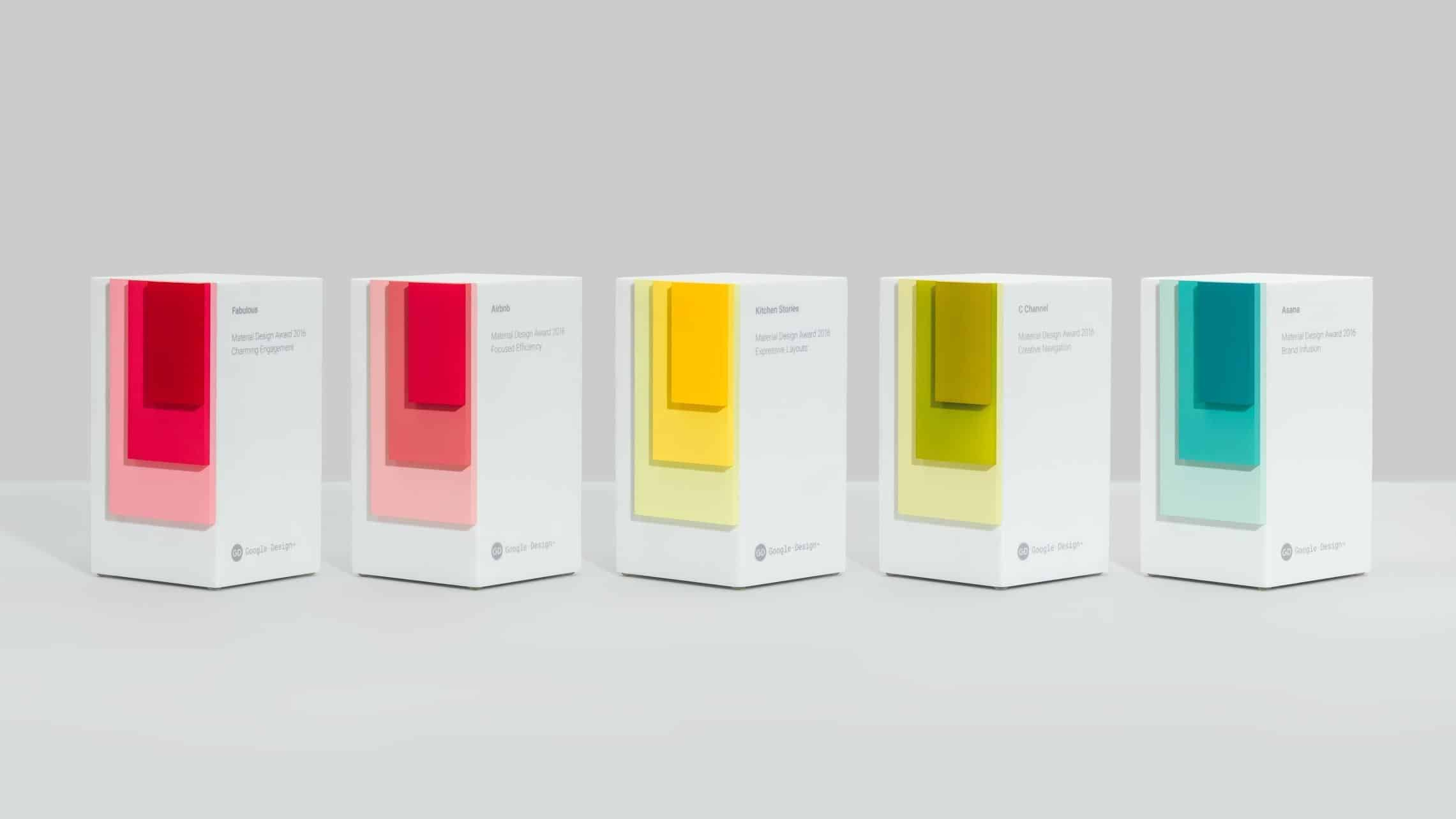 Material Design Awards 2016