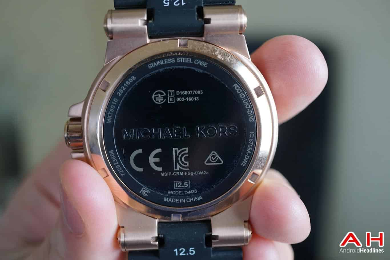 Review Michael Kors Access Dylan Android Wear Smartwatch