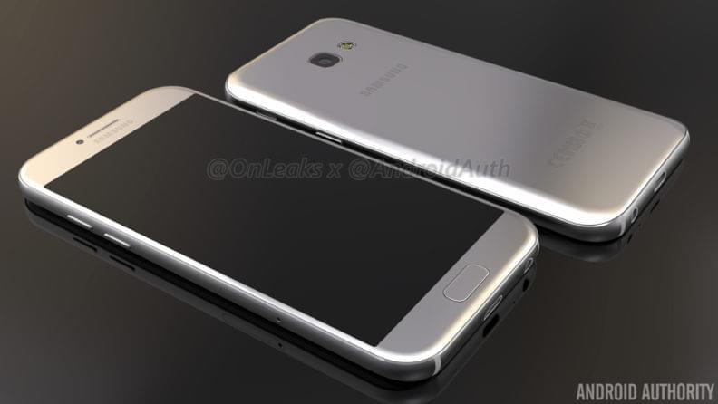 Samsung Galaxy A5 2017 Render 1