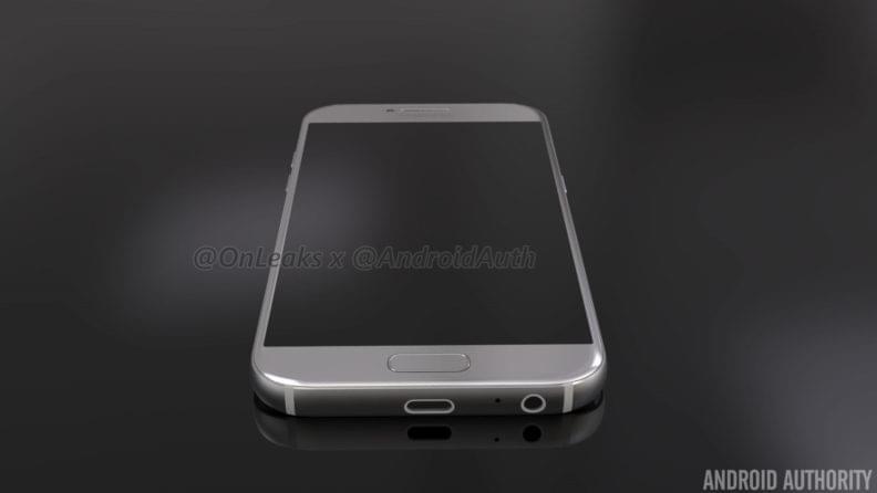 Samsung Galaxy A5 2017 Render 3