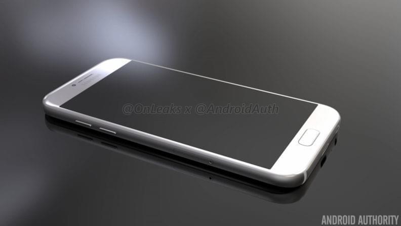 Samsung Galaxy A5 2017 Render 4