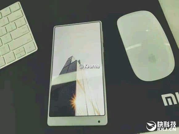 White Xiaomi Mi MIX leak 1