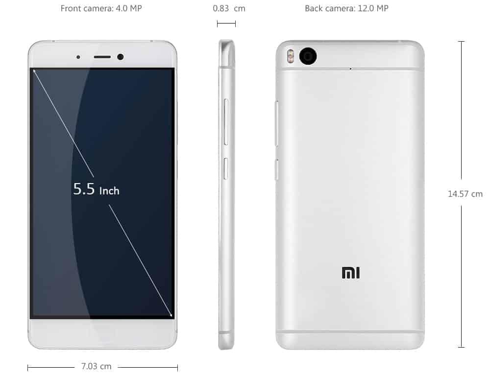 Xiaomi Mi 5s smartphone
