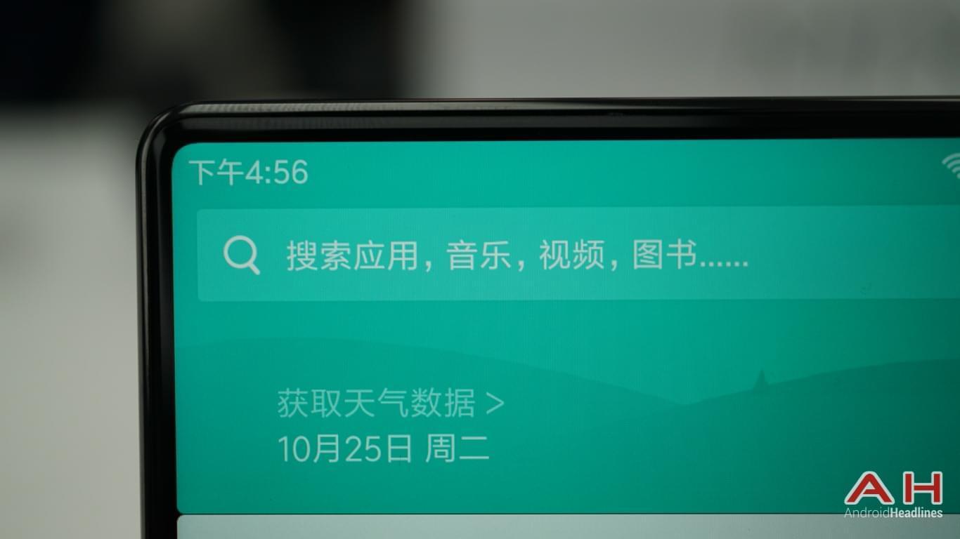 Xiaomi Mi Mix AH Hands On 13