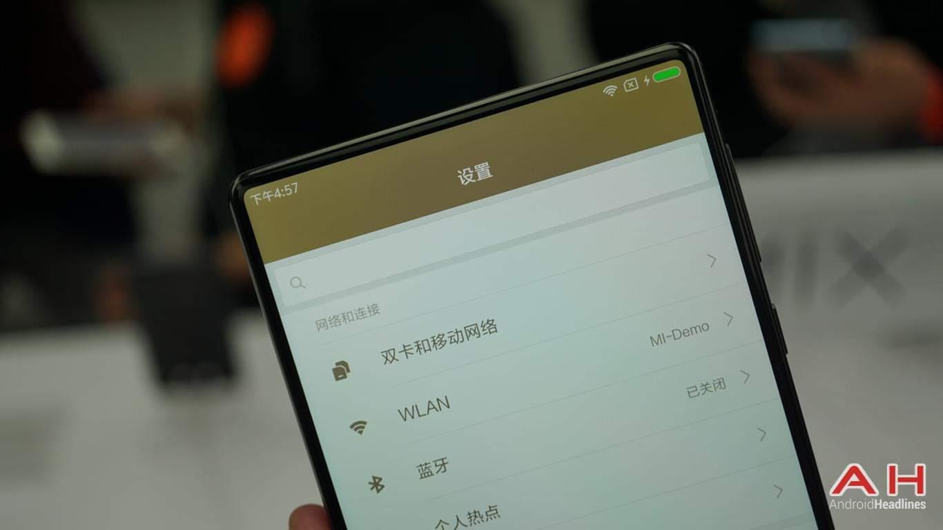 Xiaomi Mi Mix AH Hands On 14