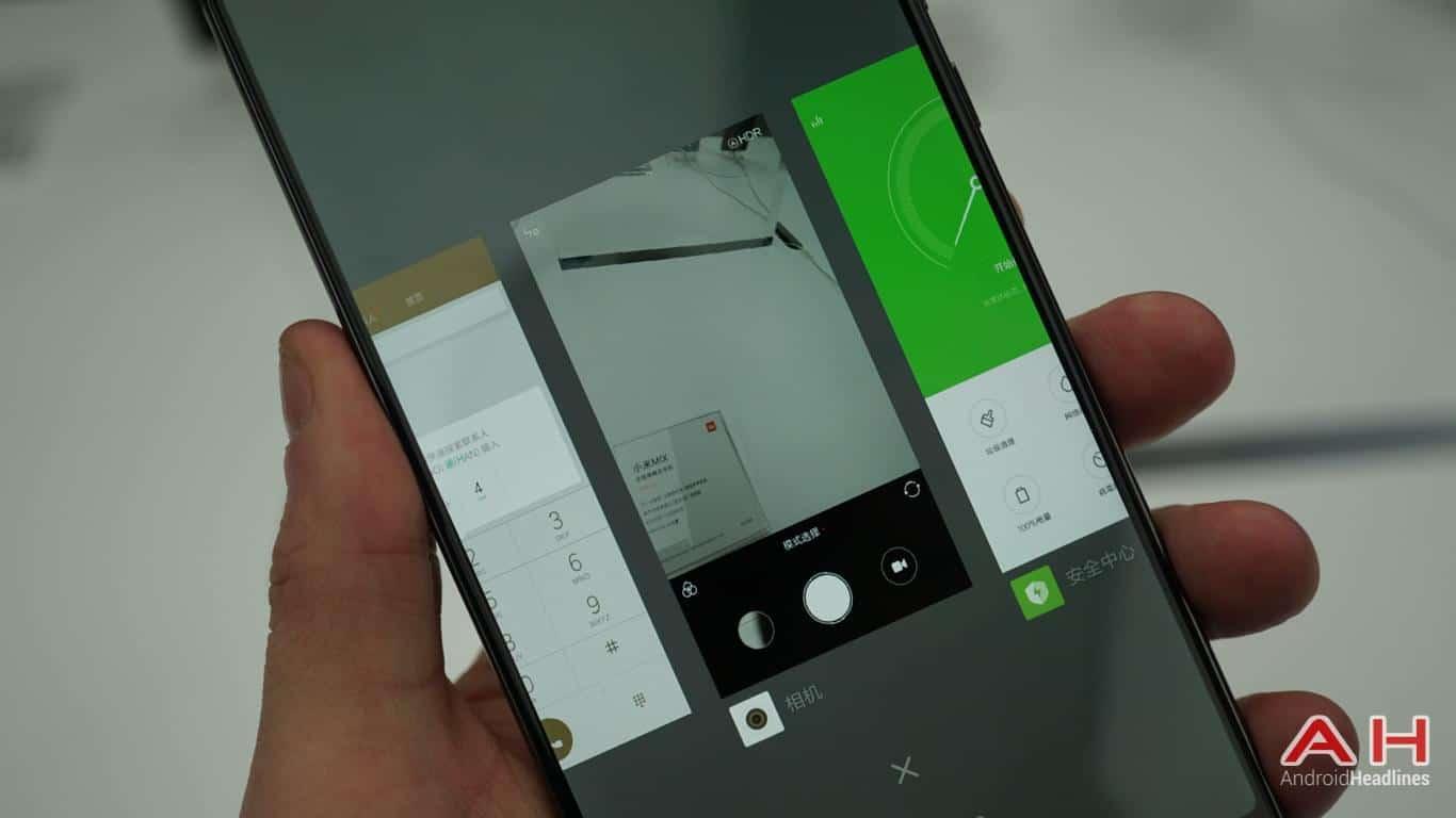 Xiaomi Mi Mix AH Hands On 2