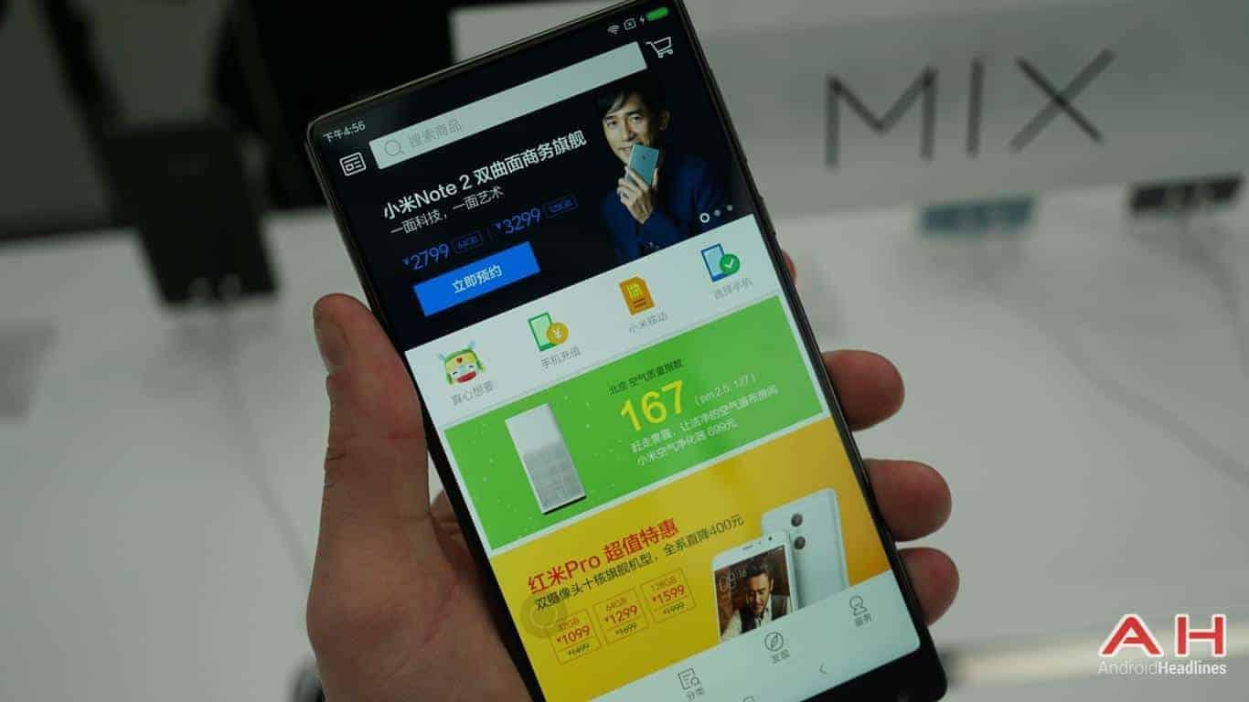 Xiaomi Mi Mix AH Hands On 7
