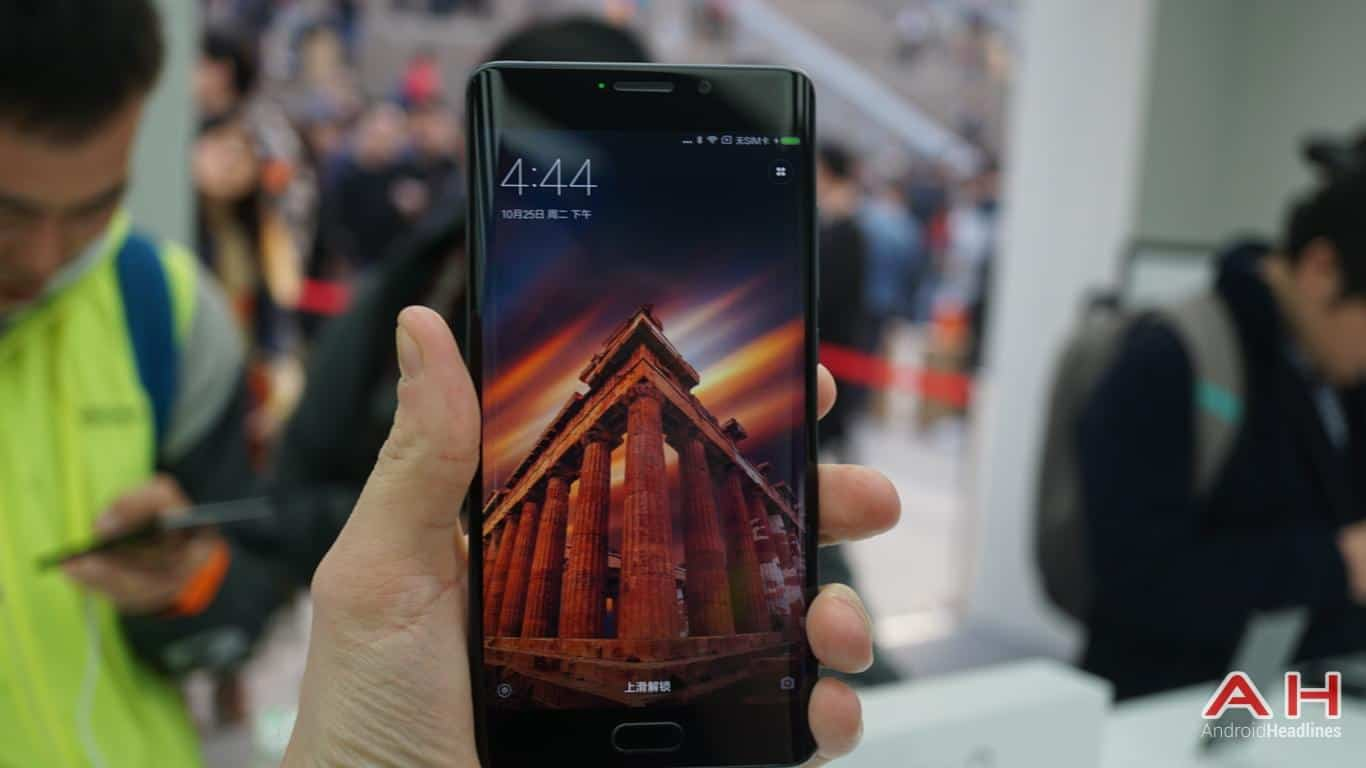 Xiaomi Mi Note 2 AH Hands On 1