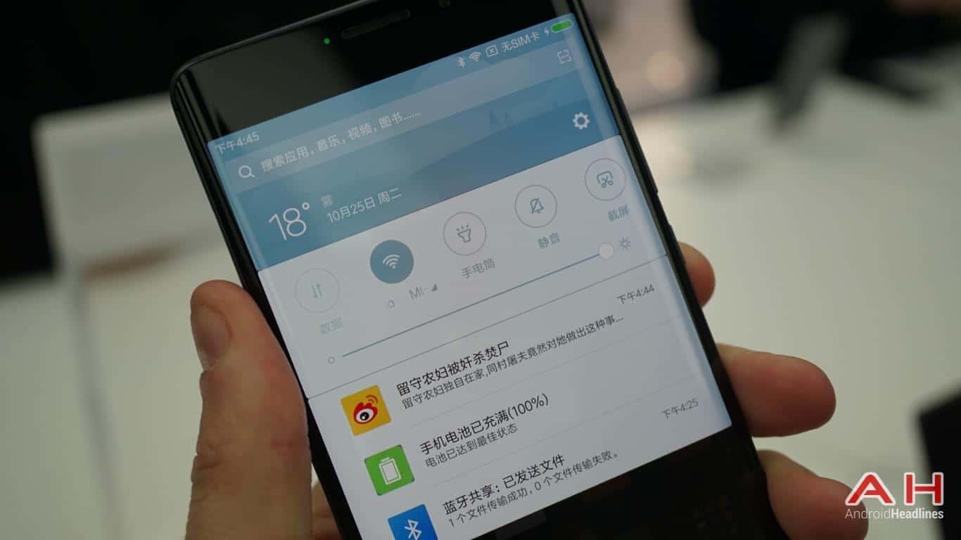 Xiaomi Mi Note 2 AH Hands On 17