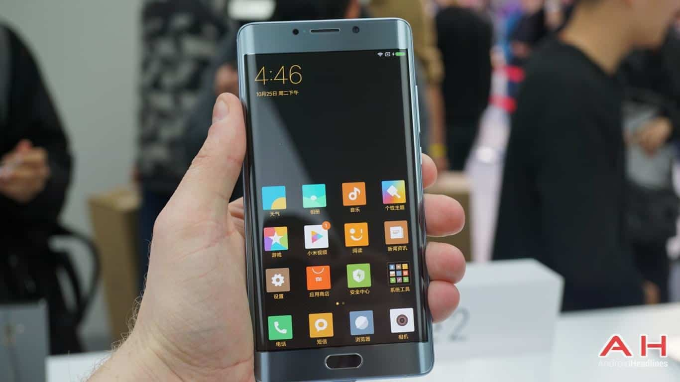 Xiaomi Mi Note 2 AH Hands On 23