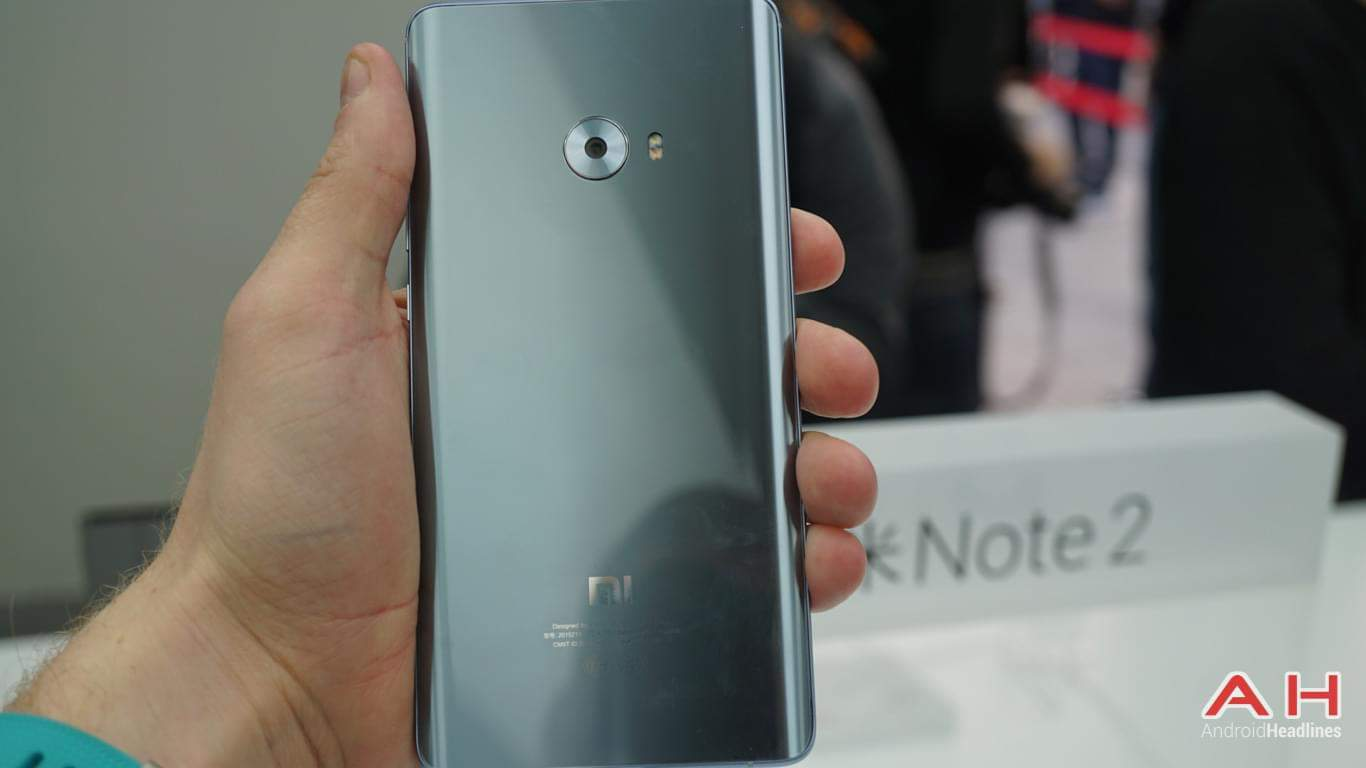 Xiaomi Mi Note 2 AH Hands On 28