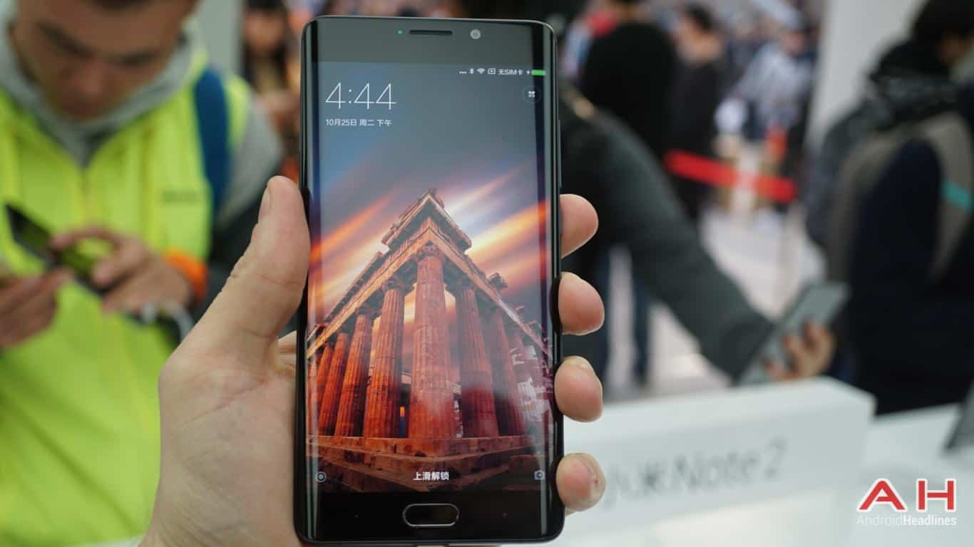 Xiaomi Mi Note 2 AH Hands On 3