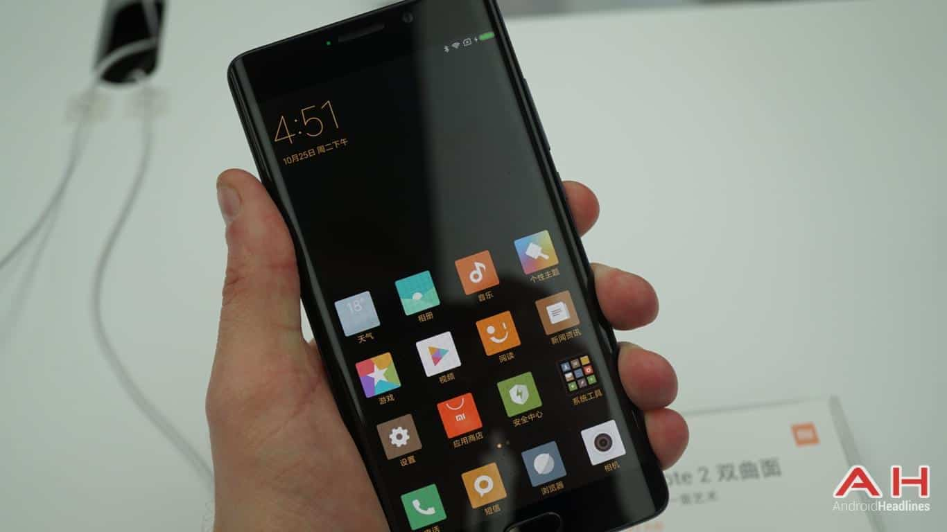 Xiaomi Mi Note 2 AH Hands On 36