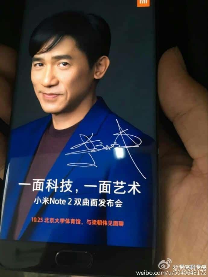 Xiaomi Mi Note 2 leaks 2