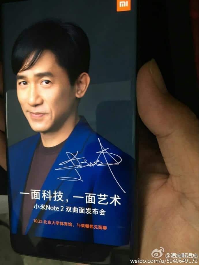 Xiaomi Mi Note 2 leaks 4