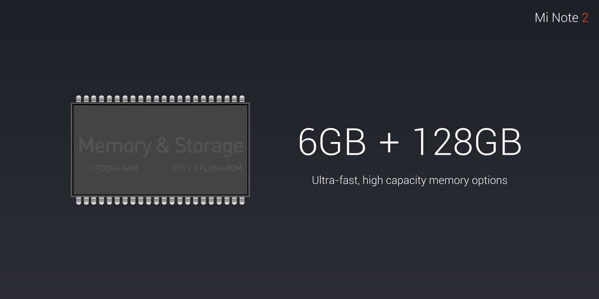 Xiaomi Mi Note 2 specs 6