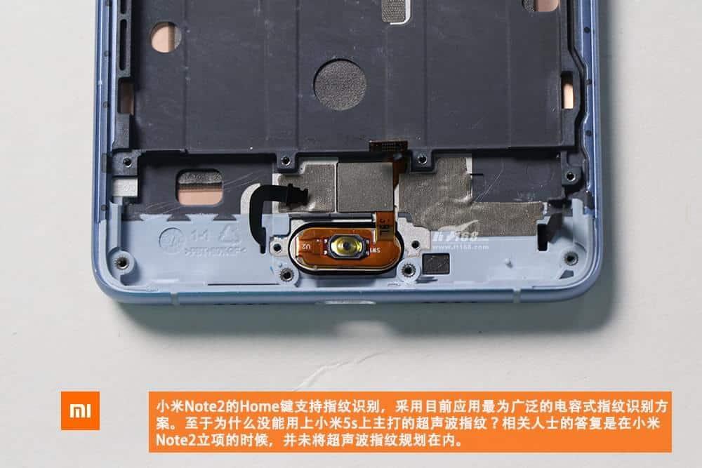 Xiaomi Mi Note 2 teardown 16
