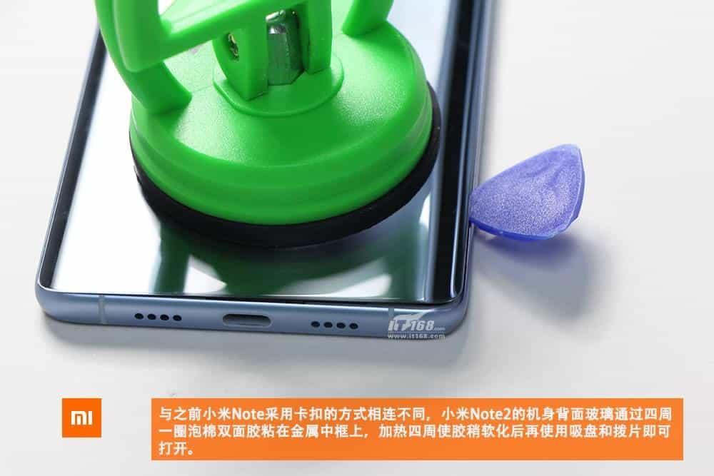 Xiaomi Mi Note 2 teardown 2