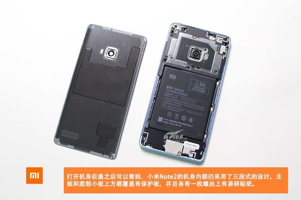 Xiaomi Mi Note 2 teardown 3