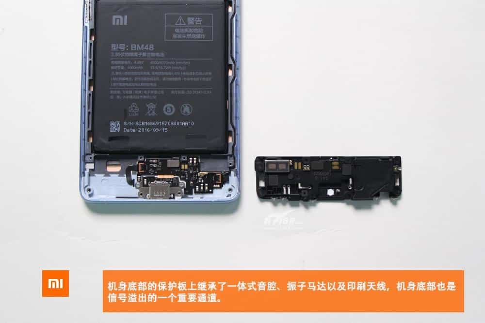 Xiaomi Mi Note 2 teardown 7