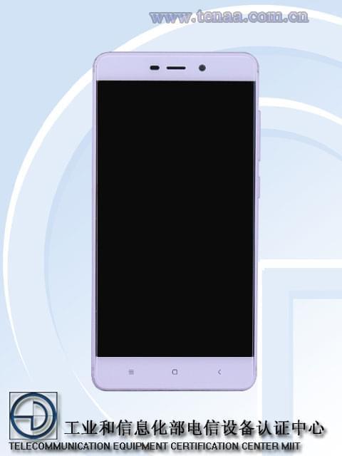 Xiaomi Redmi 4 TENAA 1