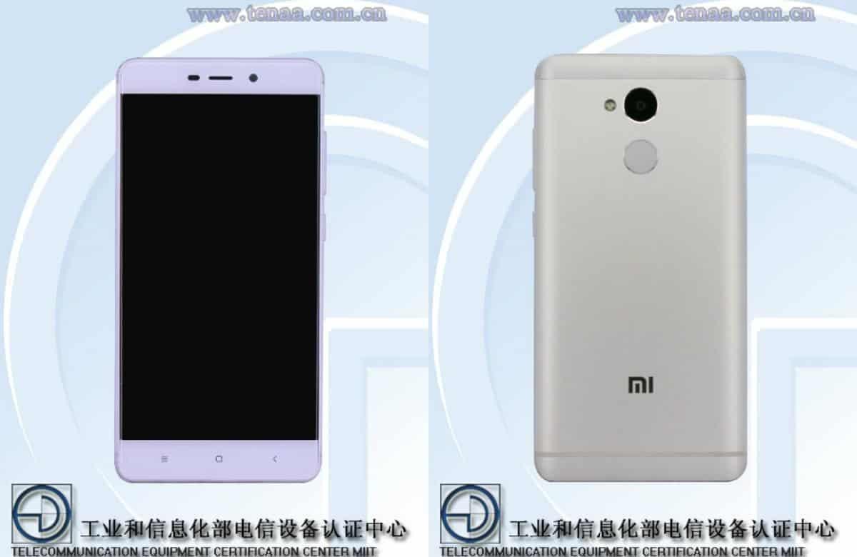 Xiaomi redmi 4 redmi 4a specs get confirmed by tenaa for Housse xiaomi redmi note 4