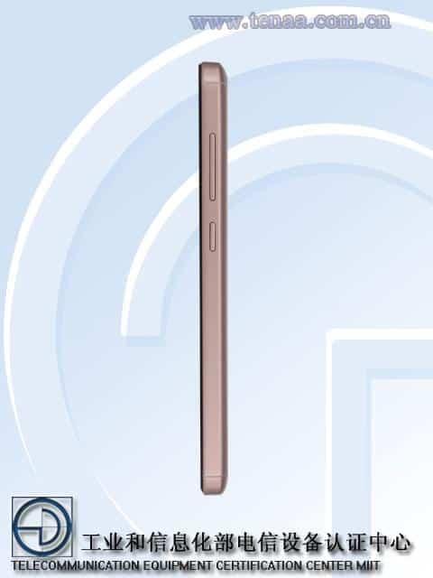 Xiaomi Redmi 4A TENAA 3