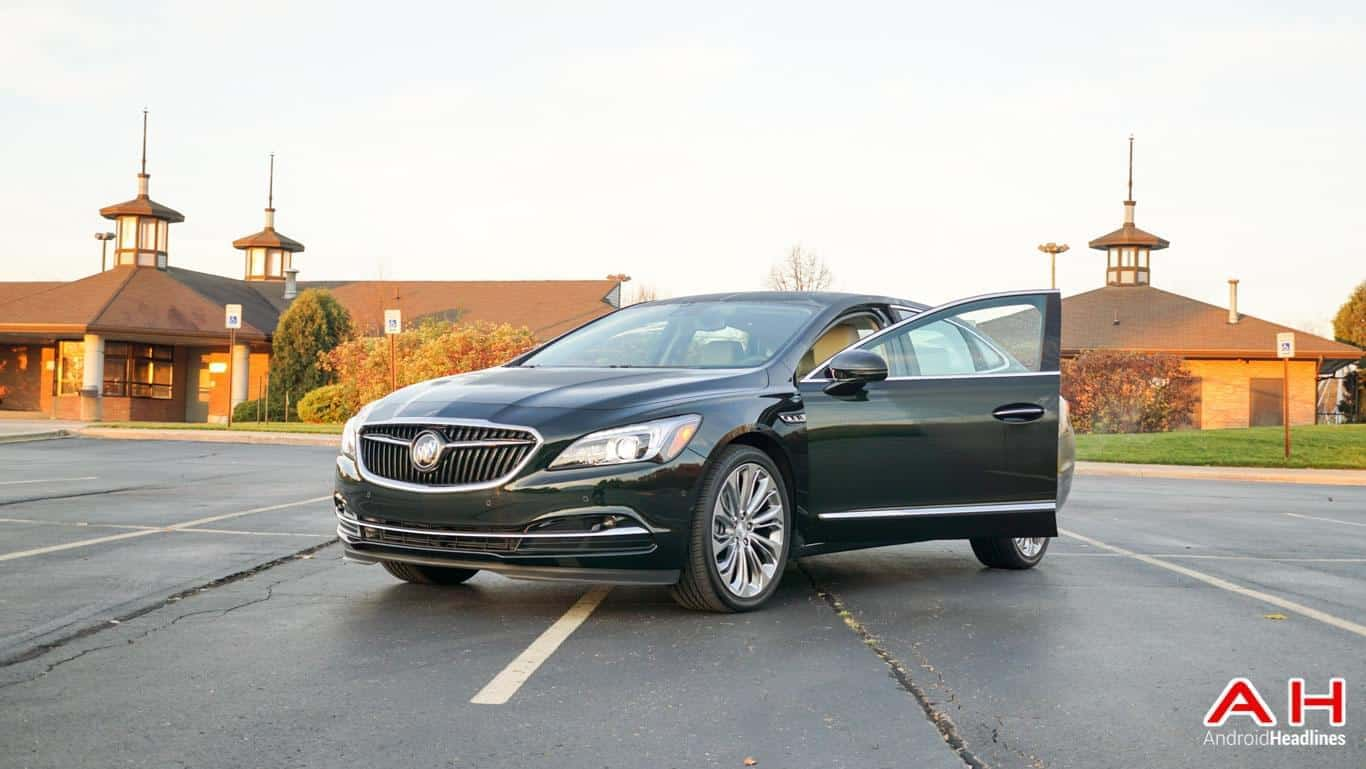 2017 Buick LaCrosse Android Auto AH 6