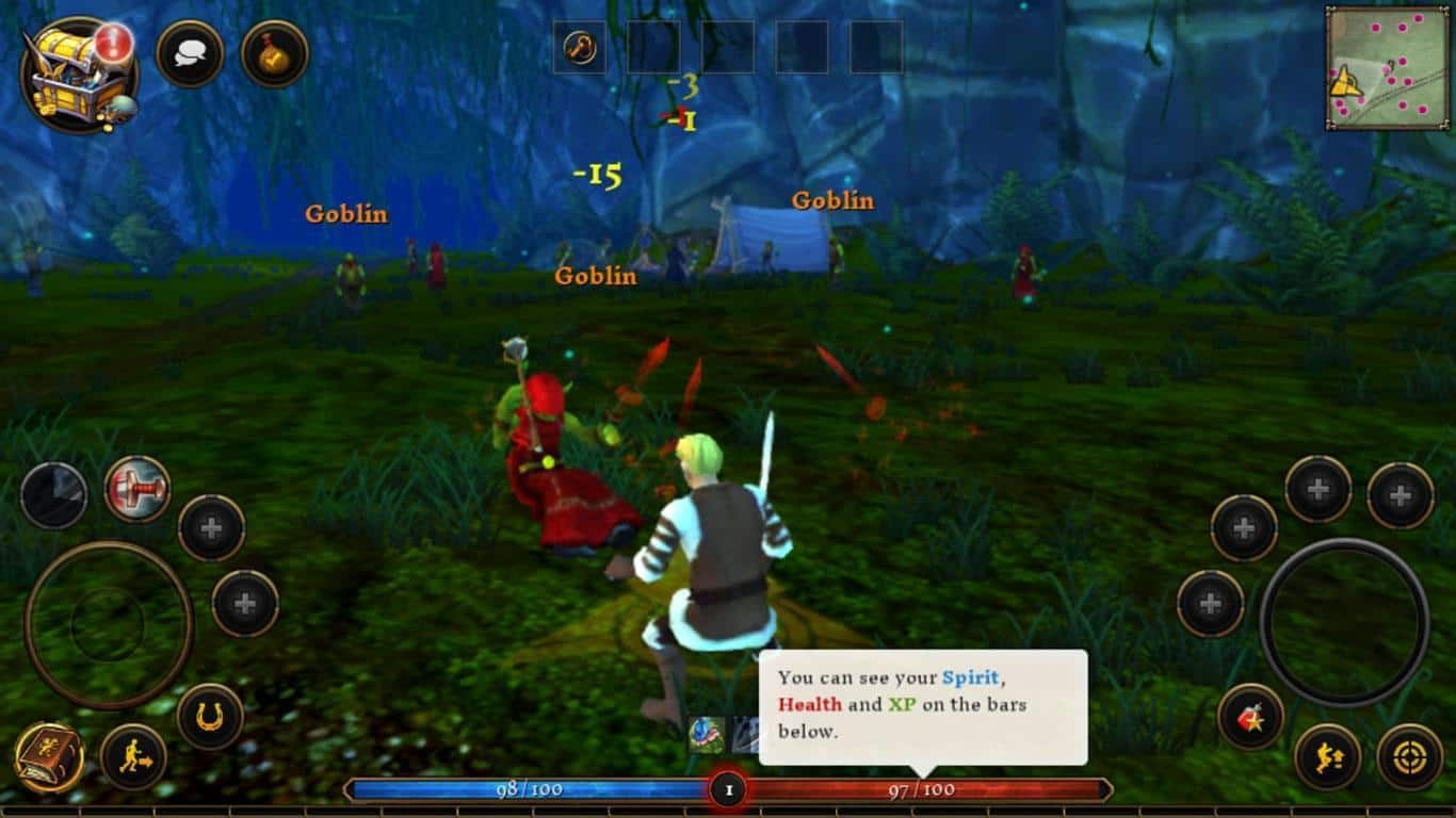 sponsored game review 3d mmo heroes villagers android news