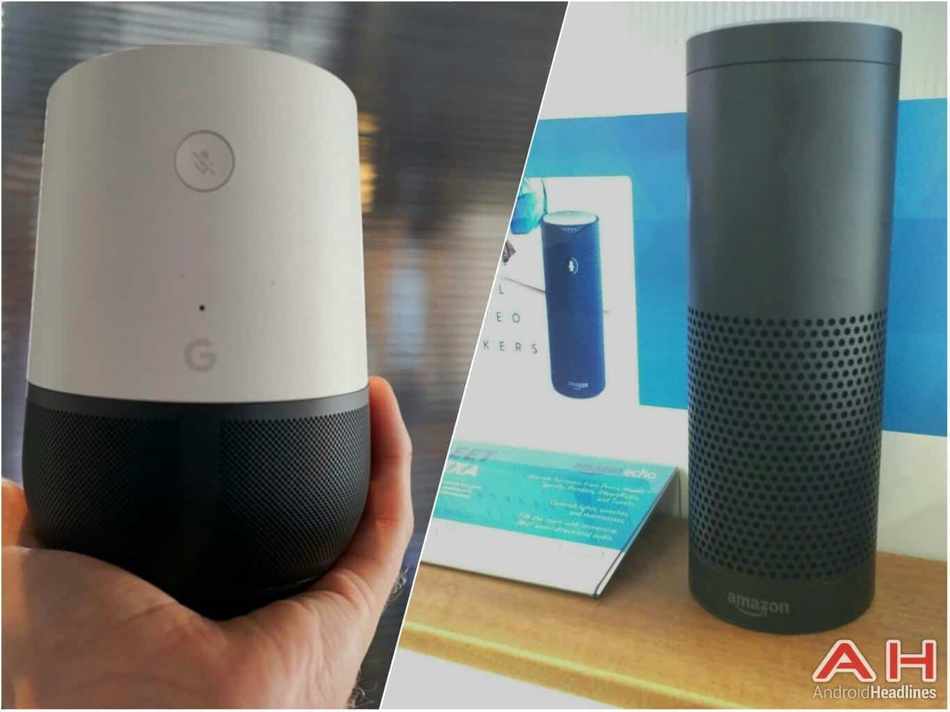 google home vs amazon echo best products autos post. Black Bedroom Furniture Sets. Home Design Ideas