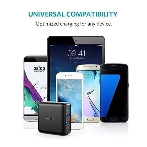 Anker Quick Charge 3.0 Dual USb Wall Charger BF Deal 3