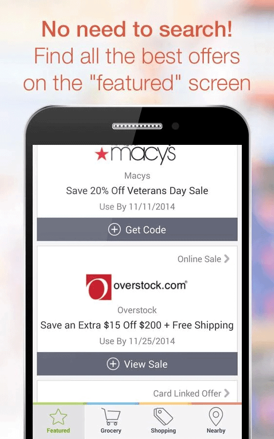 Best app for coupons and discounts