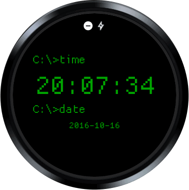 dos-watch-face-play-store