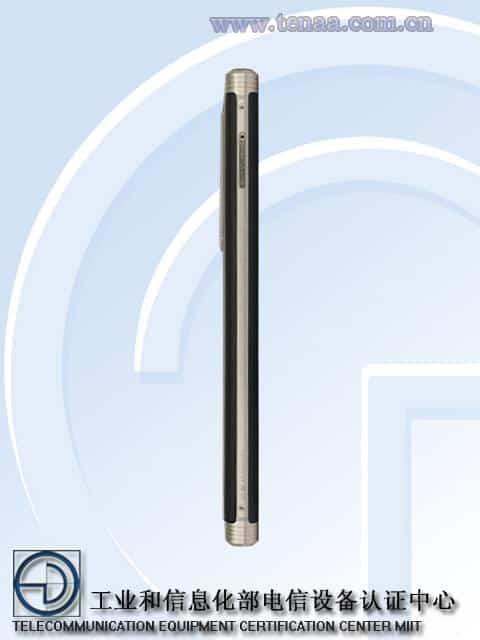 Gionee M2017 TENAA 3