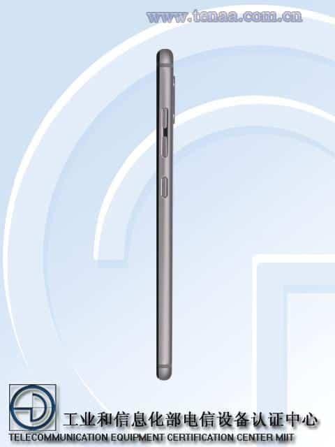 Gionee S9 TENAA 3