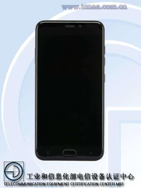 Gionee S9T TENAA 1