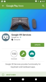 Google Daydream View VR AH NS google vr services