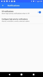 Google Daydream View VR AH NS notifications