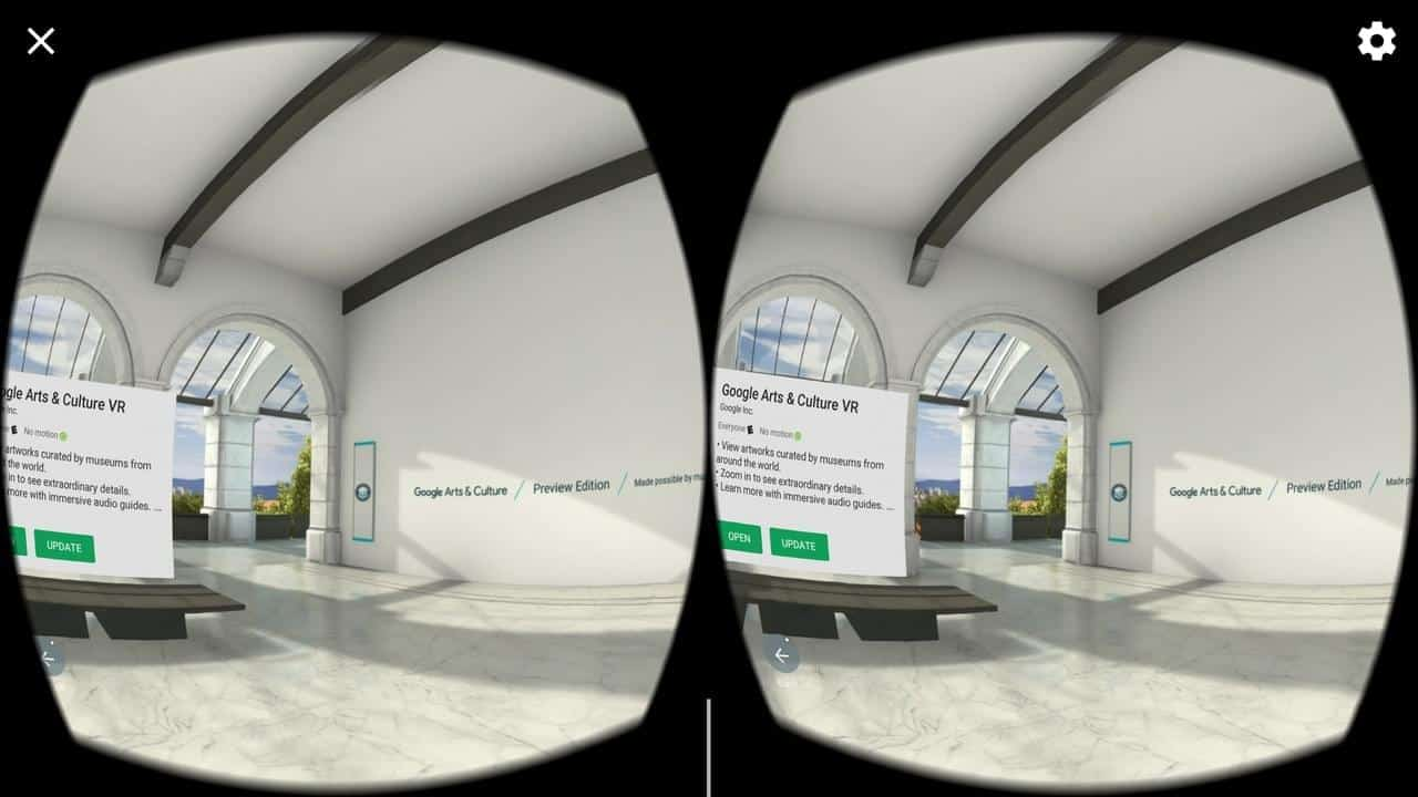 Google Daydream View VR AH NS play store app preview